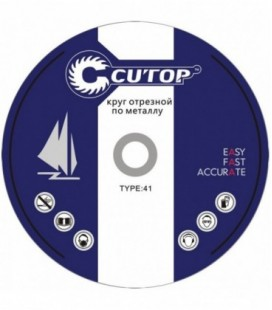 Круг отрезной по металлу Cutop Profi T41 230x2,5x22,2 мм