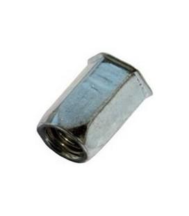 Заклепка резьбовая М4*12 мм шестигранная (нержавеющая сталь)