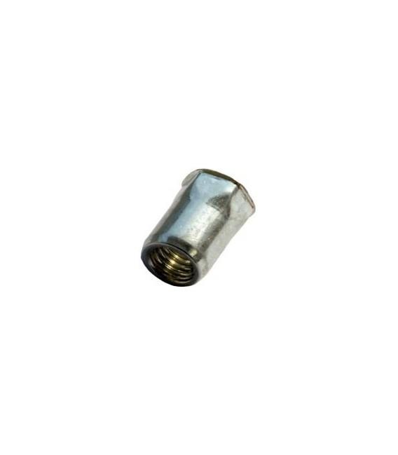 Заклепка M10*20,5 мм из стали с внутренней резьбой, уменьшенный бортик, полушестигранная