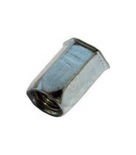 Заклепка резьбовая М5*13,5 мм шестигранная (нержавеющая сталь)