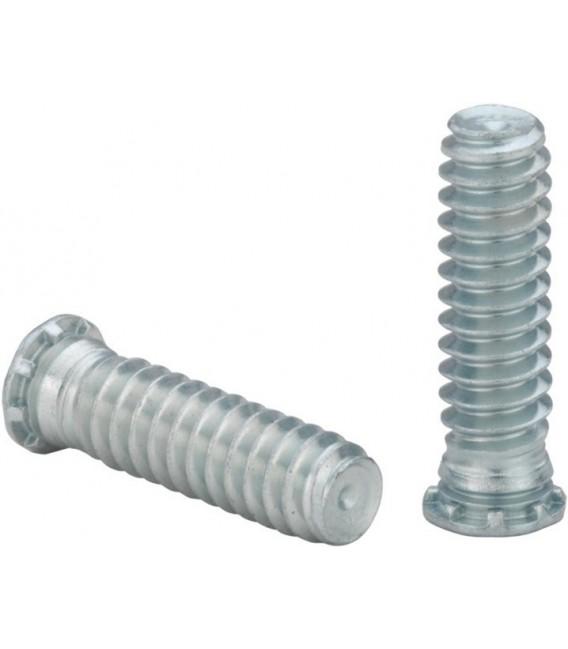 Шпилька запрессовочная резьбовая М2,5-М8