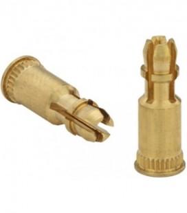 Стойка запрессовочная дистанционная для печатных плат и пластика 4 мм