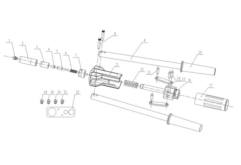 Запчасти к заклепочнику Absolut (SKytools) SK4007 / Time-proof TSC64